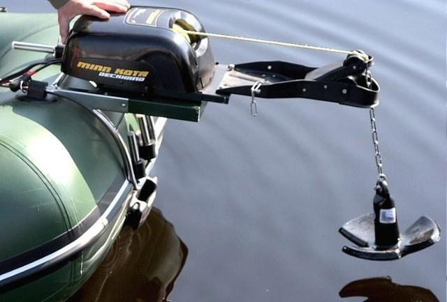 Якорная лебедка для лодки